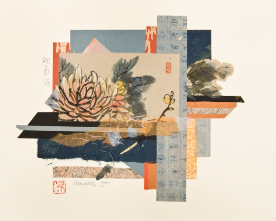 Collage-Ode-to-Chrysanthemum-II